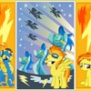 Ponies my little pony: friendship is magic spitfire HD wallpaper