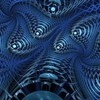 Render abstract backgrounds blue digital art HD wallpaper