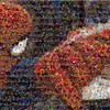 Spider-man mosaic marvel comics comic books HD wallpaper
