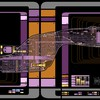 Star trek the next generation voyager final schematics HD wallpaper