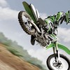 Kawasaki green motocross motorbikes vehicles HD wallpaper
