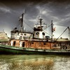 Hdr photography harbor ships HD wallpaper