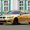 Bmw cars gold HD wallpaper