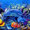 Fish artwork HD wallpaper