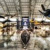 Aircraft hangar HD wallpaper