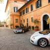 Bugatti veyron sun cars houses HD wallpaper
