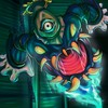 Art artwork chains dusknoir ghost one eye HD wallpaper