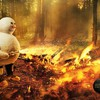 Boots fire snow HD wallpaper