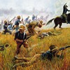 Battles guns horses HD wallpaper