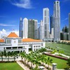Singapore architecture buildings cityscapes tropic HD wallpaper