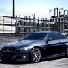 Bmw 3 series automobiles black cars front HD wallpaper