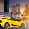 Cars lamborghini buildings vehicles gallardo cities superleggera HD wallpaper