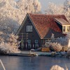 Cityscapes houses landscapes snow villages HD wallpaper
