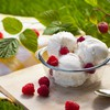 Food ice cream desserts raspberries HD wallpaper