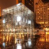 Apple inc central park new york city glass HD wallpaper