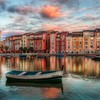 Europe italy venice boats rivers HD wallpaper