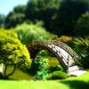 Bridges landscapes tiltshift HD wallpaper