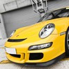 Porsche cars yellow HD wallpaper