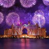 Dubai fireworks HD wallpaper