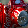 Cocacola artwork cameras soda cans HD wallpaper