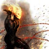 Comics Feuer ghost rider Zeichnungen Ketten traditionelle  HD wallpaper