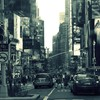 Cityscapes streets traffic HD wallpaper