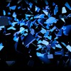 Blue black explosions glow colors slices cube HD wallpaper