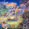 peintures Fantasy Art rêves josephine mystique murale  HD wallpaper