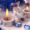 Christmas decorations bells candles gems glitter HD wallpaper