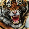 Animals digital art drawings paintings tigers HD wallpaper