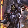 Dave wilkins heman skeletor artwork comics HD wallpaper