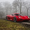 Koenigsegg cars forests mist nature HD wallpaper