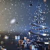 Christmas new year party presents snow HD wallpaper