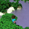 Minecraft steve beaches jungle tapeta HD wallpaper