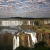 Clouds landscapes brazil waterfalls iguazu falls HD wallpaper