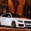 Cars audi tuning white s5 HD wallpaper