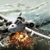 Aircraft explosions fire a-10 thunderbolt ii HD wallpaper