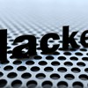 Black text steel 3d word hackett HD wallpaper