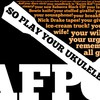 Typography lyrics amanda palmer ukulele anthem HD wallpaper