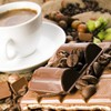 Chocolate and cup of coffee HD wallpaper