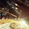 Battles futuristic outer space planets science fiction HD wallpaper