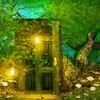 Fairytale door HD wallpaper