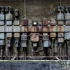 Cityscapes machinery abandoned factory HD wallpaper