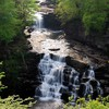 Tiered waterfall pictures HD wallpaper