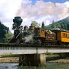 Trains voie ferrée machine à vapeur  HD wallpaper