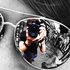 Bender ghazali ali mirrors reflections sunglasses HD wallpaper