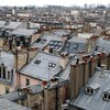 Paris houses fog rooftops cities james lapett HD wallpaper
