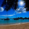 Bright day at mauritius HD wallpaper