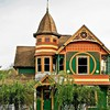 Usa oregon victorian houses HD wallpaper