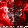 George kastriotic skangerbeg red white eagle heros HD wallpaper